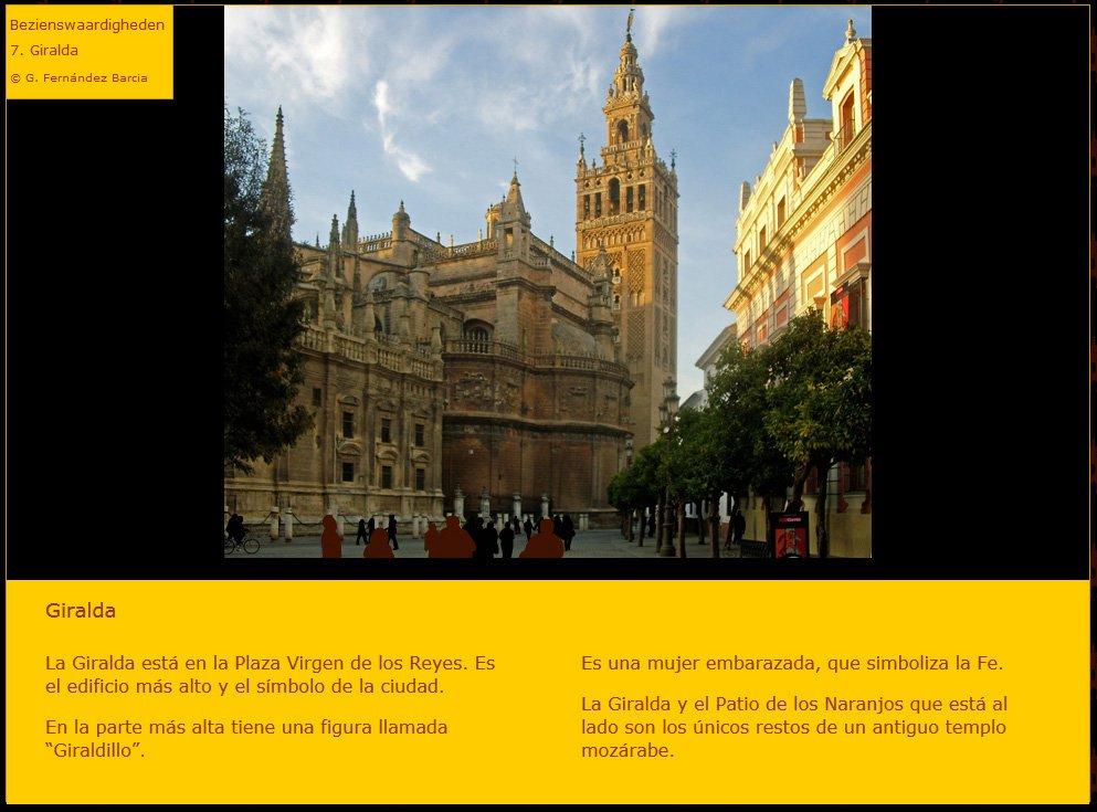Toerisme Andalusië / Binnenlandstoerisme / Sevilla / Monumenten