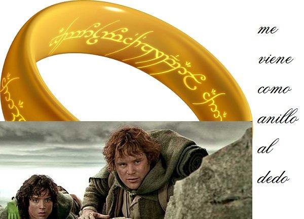 Spaanse en Nederlandse uitdrukkingen met Ring