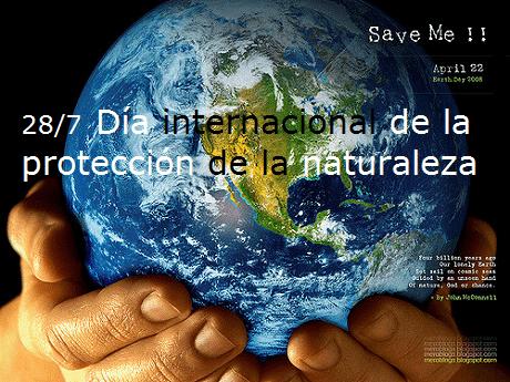 Protección de la naturaleza – Geografie