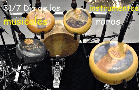 Instrumentos musicales raros – Muziek en dans