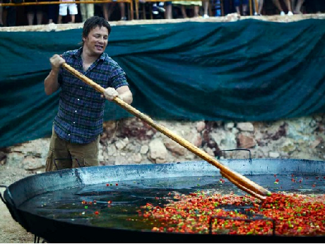 Jamie Oliver, an Englishman in Andalucía