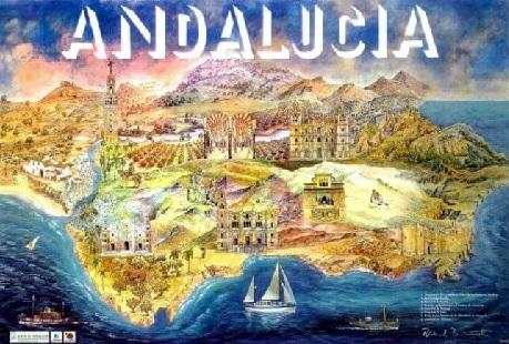 Online Spaans leren Spaanse taal en cultuur Andalusië –  Binnenland en Natuur Vocabulaire