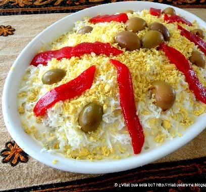 Online Spaans leren met Spaanse recepten – Ensaladilla rusa