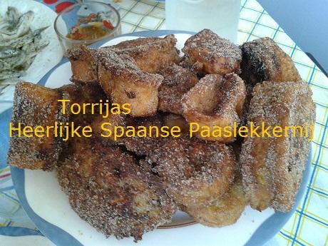 Spaans leren met Spaanse recepten Torrijas de Semana Santa typisch paasrecept