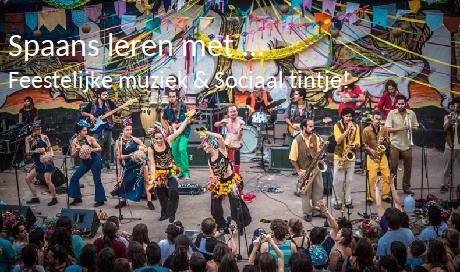 Spaans leren met muziek en een sociaal tintje