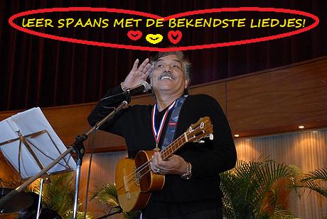 Spaans met Spaanse liedjes
