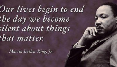 Martin Luther King – Geschiedenis