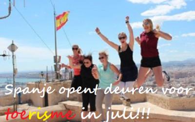 Toeristen weer welkom in Spanje!