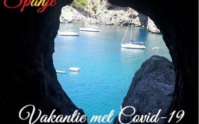 Op vakantie naar Spanje met COVID-19