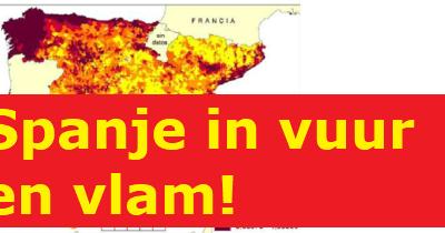 Spanje in vuur en vlam!